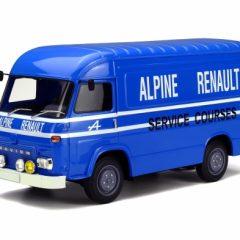 Renault-Saviem Sb2 Assitance Alpine blue