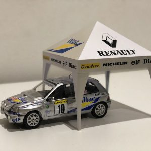 Renault Clio Williams Gr.A Ragnotti