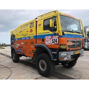 M.A.N. TGS 4×4 Rainbow Team Dakar 2019 1:50