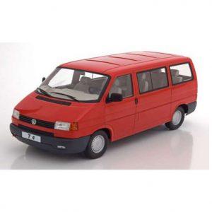 VW BUS T4 CARAVELLE 1992 rojo