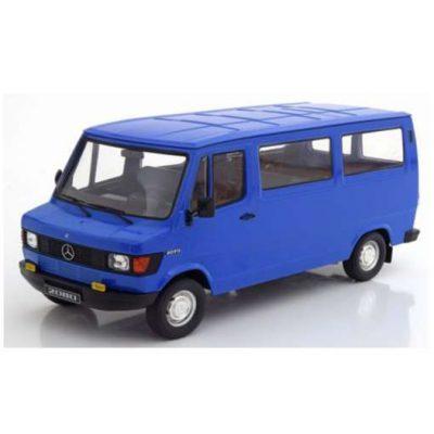MERCEDES 280D TRANSPORTER 1988 BUS azul