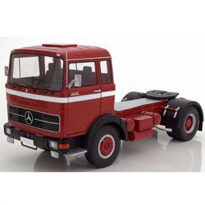 MERCEDES LPS 1632 1969 rojo/blanco