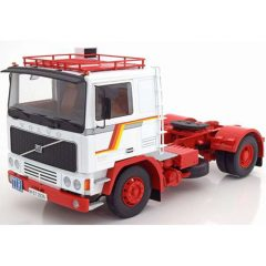 VOLVO F12 1977 blanco/rojo