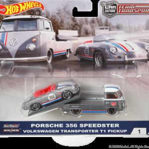 Transporter Set #1 Volkswagen Transporter T1 Pickup – Porsche 356 Speedster