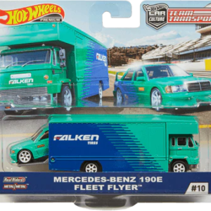 Transporter Set #10 Fleet Flyer – Mercedes-Benz 190E