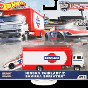 Transporter Set #11 Sakura Sprinter – Nissan Fairlady Z