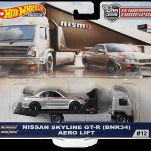 Transporter Set #12 Aero Lift – Nissan Skyline GT-R (BNR34)