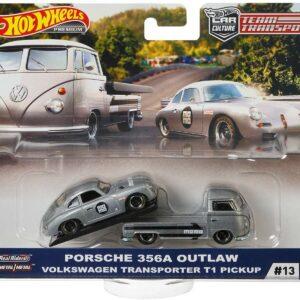 Transporter Set #13 Volkswagen Transporter T1 Pickup – Porsche 356A Outlaw
