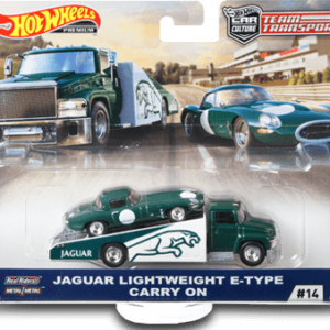Transporter Set #14 Carry On – Jaguar Lightweight E-Type