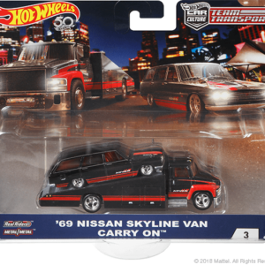 Transporter Set #3 Carry On – '69 Nissan Skyline Van