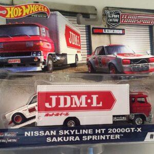 Transporter Set #8 Sakura Sprinter – Nissan Skyline H/T 2000GT-X